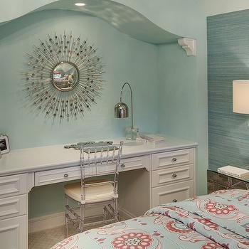 Arched Desk Alcove, Contemporary, Girl's Room, Stonewood LLC