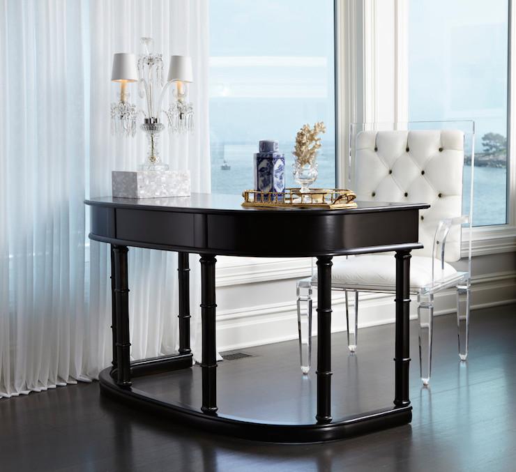 Lucite Desk Chair