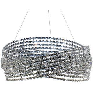 Diamante 6-light Chrome 3-ring Crystal Chandelier, Overstock.com