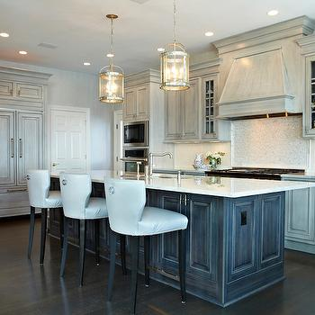 Dark Blue Grey Kitchen Cabinets
