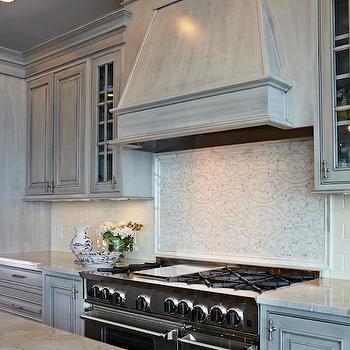 La Dolce Vita Quartzite Countertops, Transitional, Kitchen, Donna Benedetto Designs