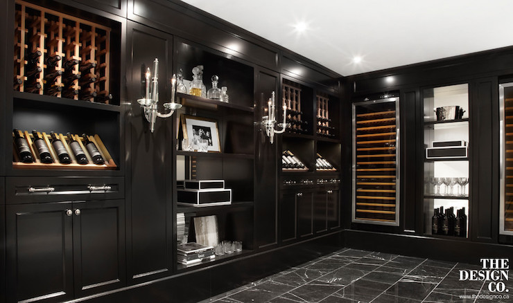 Basement wine cellar ideas contemporary basement the for Wine cellar in floor