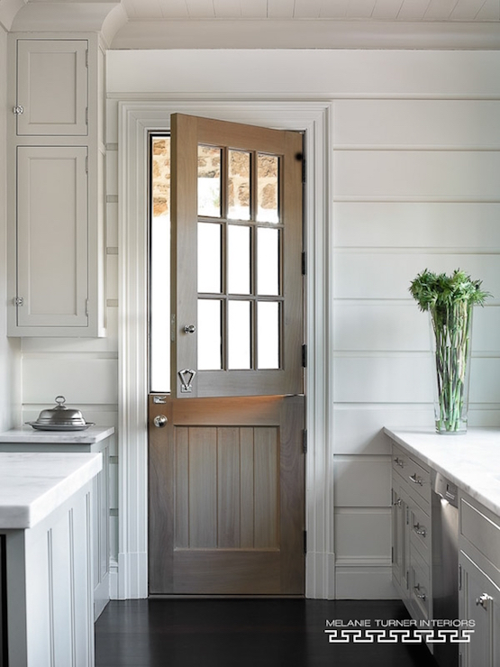 Beadboard Dutch Door Design Ideas