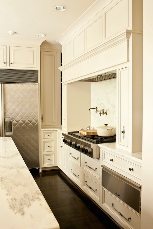 Kitchen Warming Drawer ~ Kitchen cabinet with pocket doors and pull out small