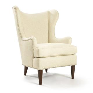 Rizzo Barley Upholstered Wing Back Chair, Overstock.com