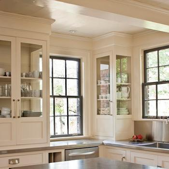 Belgium Bluestone Countertops, Transitional Kitchen, Cantley and Company