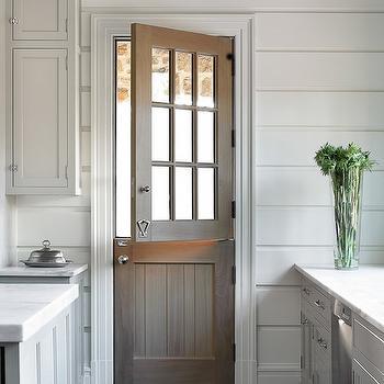 Kitchen with Dutch Door, Transitional, Kitchen, Melanie Turner Interiors