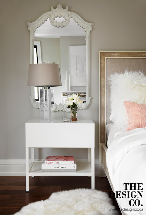 Mirror Over Nightstand