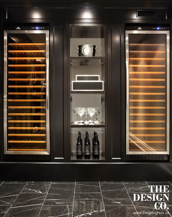 Wine Fridge Design Ideas