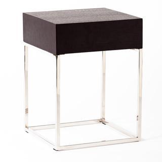 Rebecca Oak End Table, Overstock.com