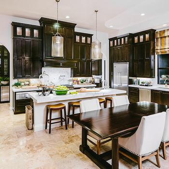 Kitchen With Travertine Floor Design Ideas