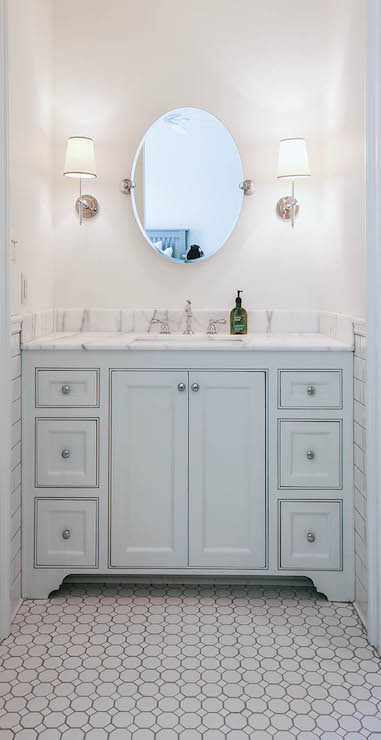 Light Blue Bathroom Vanity