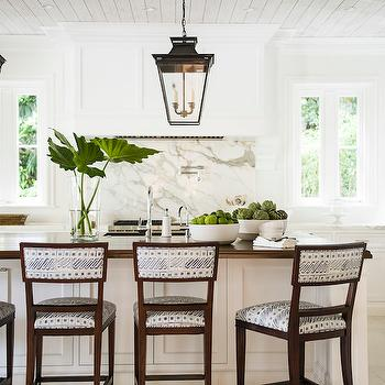 Carriage Lantern Over Island Design Ideas