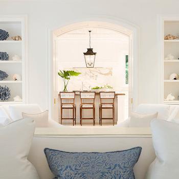Styled Built Ins, Transitional, Living Room, J K Kling Associates
