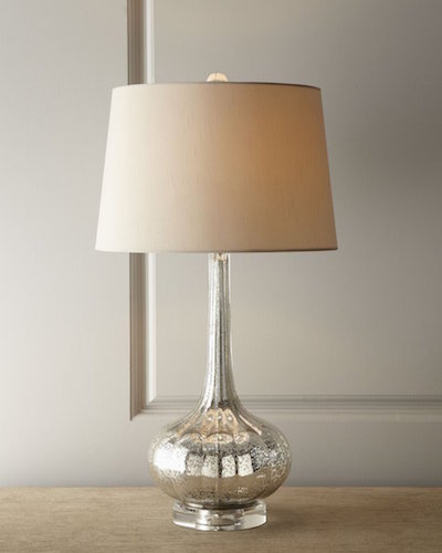 Regina Andrew Milano Antique Mercury Glass Table Lamp (1)