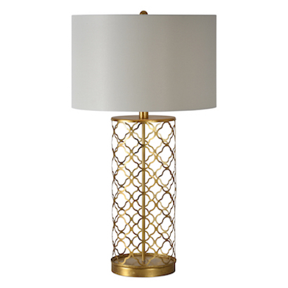 Quatrefoil Table Lamp - Look 4 Less and Steals and Deals.
