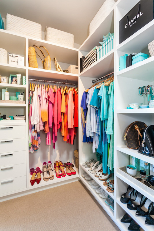 how to build a clothes closet with shelves