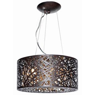 Inca Bronze Metal/ Steel 7-light Single Pendant, Overstock.com Shopping, The Best Deals on Chandeliers & Pendants