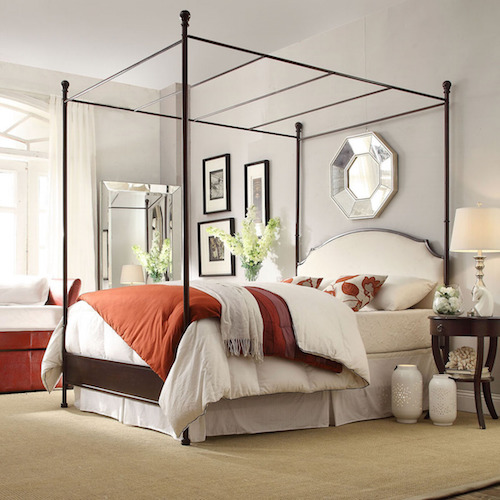 Canopy Bed Look 4 Less And Steals And Deals