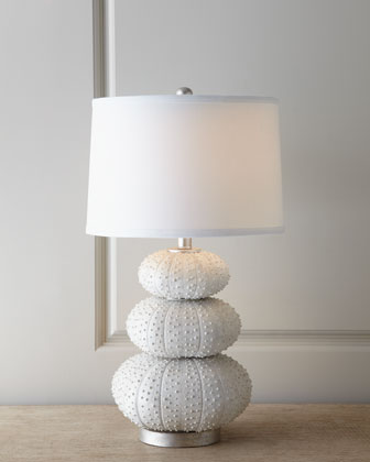 Sea Urchin Lamp - Look 4 Less and Steals and Deals.