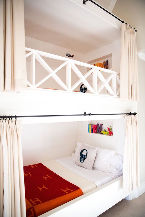 Metal Bunk Bed Railing Design Ideas