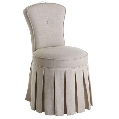 Cream Vanity Chair