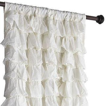 Ivory Ruffled Bliss Curtain