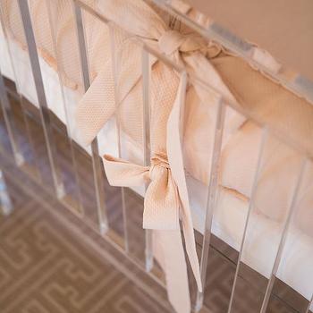 Acrylic Crib, Transitional, Nursery, Amy Berry Design