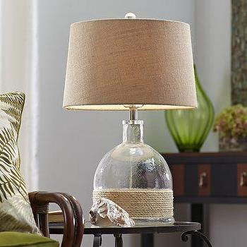 Casa Cortes Nautical Rope Pier Metal Table Lamp