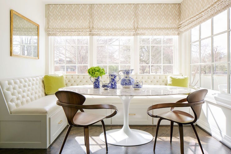 Window Seat Dining Banquette Design Ideas