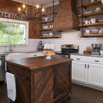 Barn Board Kitchen Hood
