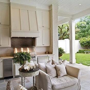 Outdoor Kitchen Mini Fridge Design Ideas