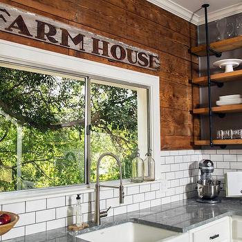 Barn Board Kitchen Hood Country Kitchen Hgtv