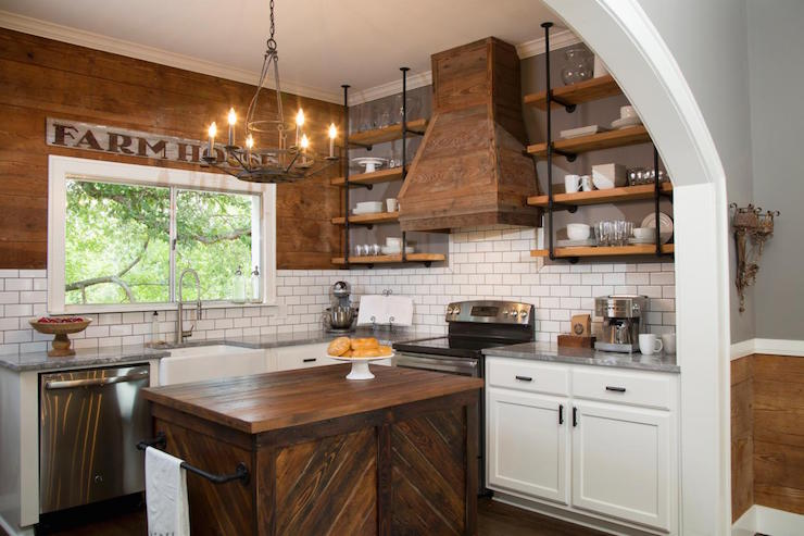 Wonderful Rustic Freestanding Kitchen Island