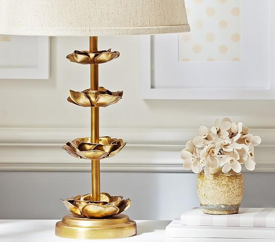 lamp a and leaf handmade gold celebrate base design diy make how to hgtv dotted