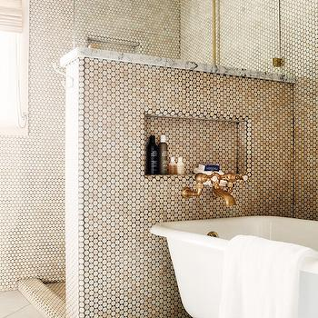 Claw Foot Tub Next To Shower Design Ideas