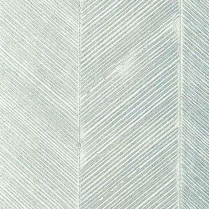 Schumacher Chevron Texture Mineral Wallpaper