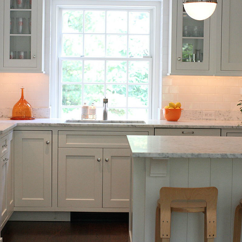 White Kitchen Orange Accents white kitchen with orange accents design ideas