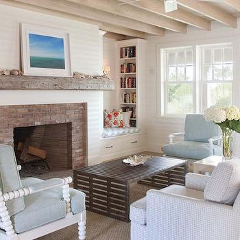 Outstanding Bookshelves Fill Nooks On Either Side Of Fireplace Design Ideas Home Interior And Landscaping Mentranervesignezvosmurscom