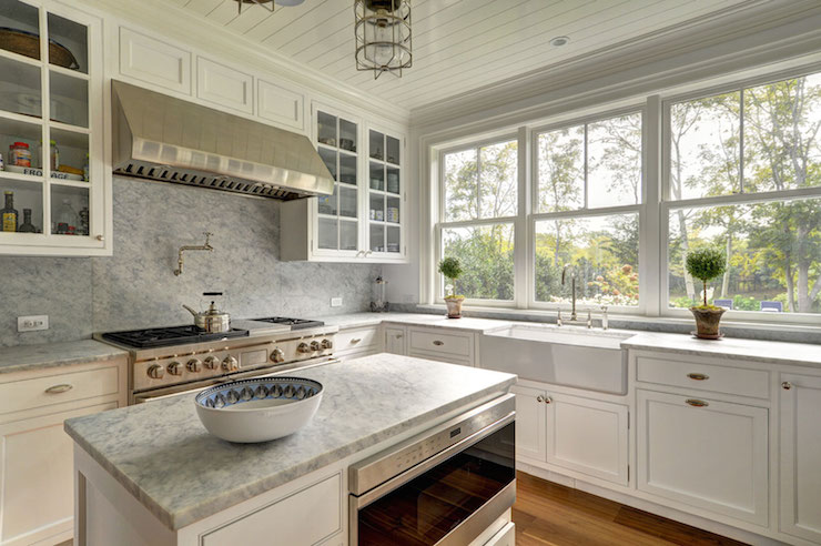 Flush Front Shaker Cabinets Design Ideas