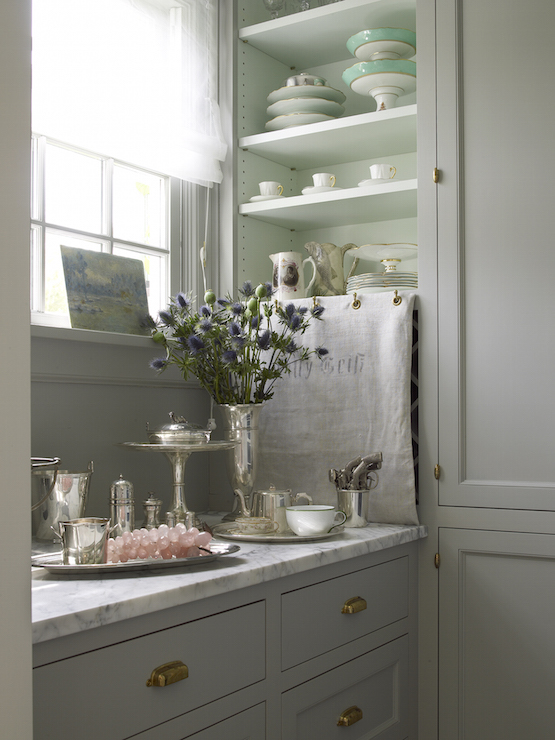 shabby chic pantry cottage kitchen john hummel. Black Bedroom Furniture Sets. Home Design Ideas