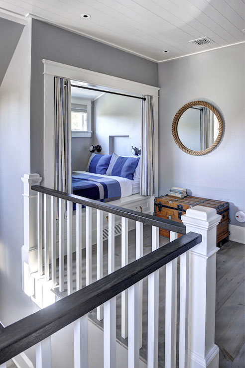 Kids Bedroom Nook kids bed alcove ideas - transitional - girl's room - palmer weiss