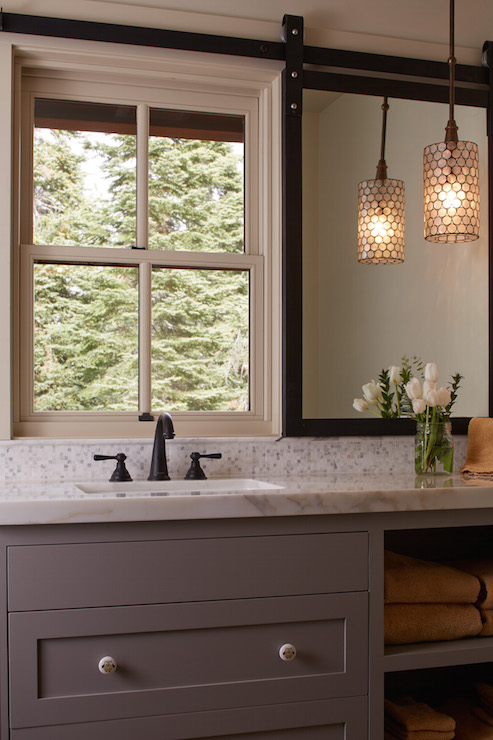 Currey And Company Regatta Pendant Country Bathroom