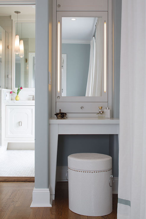 Built In Vanity Mirror Design Ideas