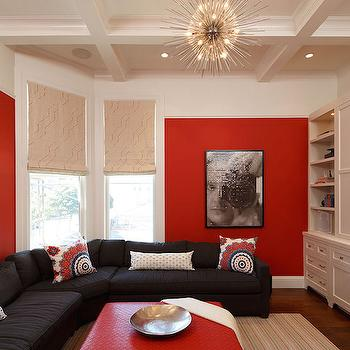 Genial Red And Black Rooms