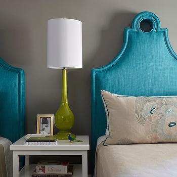 Keyhole Headboard, Contemporary, Bedroom, C2 Wall Street, Artistic Designs for Living