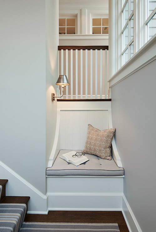 Staircase With Reading Nook