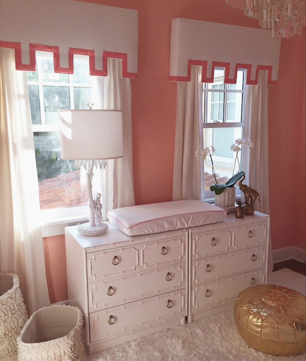Factory Paint Decorating Color Filled Nurseries: Coral Nursery Ideas