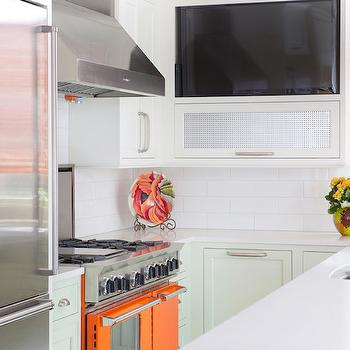 Metal Insert Kitchen Cabinet Design Ideas