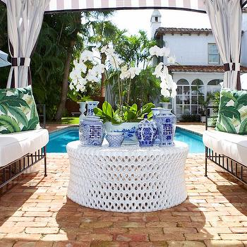 Poolside Canopy, Transitional, Deck/patio, Luxe Report